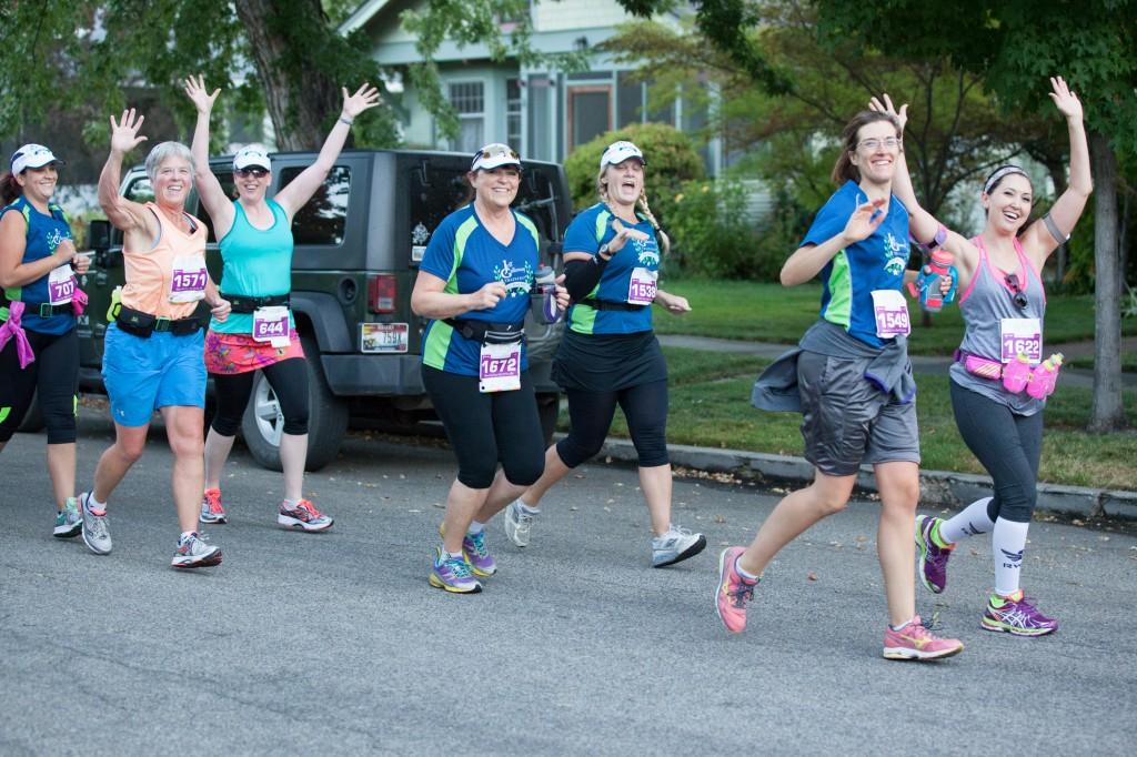 Having fun during the Fit One Half Marathon (Sep 2014)